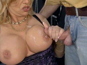 Cumshots on Babette Blue