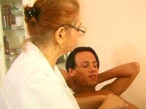 German Breasty Granny Doctor,