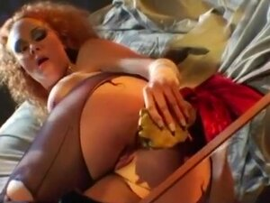 A Dick, A Dildo, Pussy and Ass, Sexy, slut Audrey