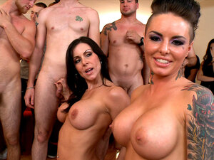 Nikki Delano, Christy Mack and Kendra Lust are
