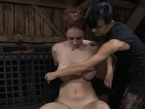 Intense caning for worthless luscious hottie