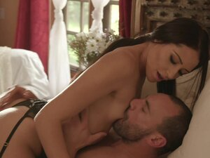 sexy brunette Avi Love gets fucked by a stiff