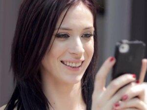 NubileFilms Video: Deep Tongue, Beautiful brunette