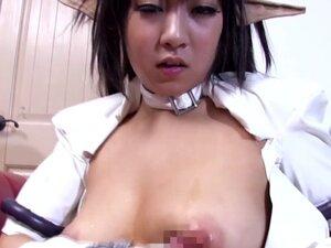 Japanese cosplay babe tittyfucked