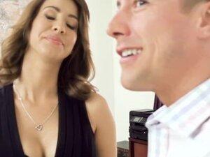 Brazzers - Hot Brunette Boss Fucks Her Coworker