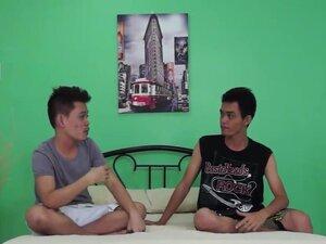 GayAsianTwinkz Video: Jeff And Anthony, Barely