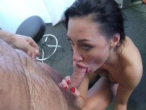 Mature brunette fucked by doctor