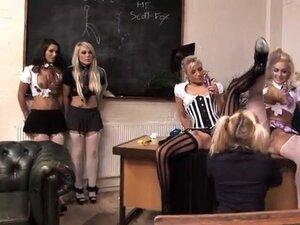 Classroom orgy