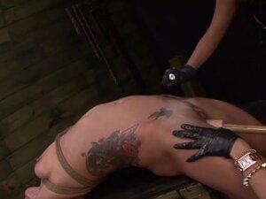 Isa Mendez Still in her BDSM Strapon Training
