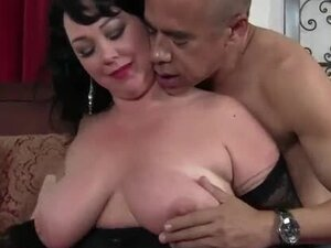 Mature BBW with big tits getting her daily dose of