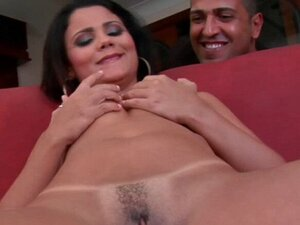 Cockriding by busty brazilian chick