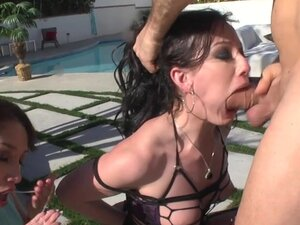 Fabulous pornstars Jennifer White, Vicki Chase,