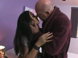 Cute Asian girl fucks her old neighbor, Kayme Kai
