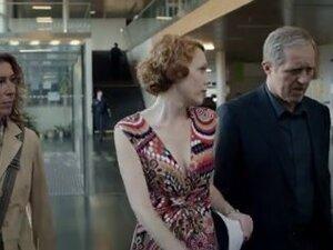 Hawt redhead in Austrian 'Tatort'-movie,