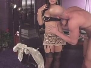 Nasty Slut Lisa Ann talks dirty and gets fucked