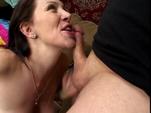 Dirty slut gets cock to blow