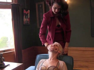 Blonde Gets Dominated by Her Domme