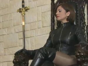 Polish My Leather Boots with Your Tongue