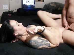 Quickie sex, cum in armpit, cum swap