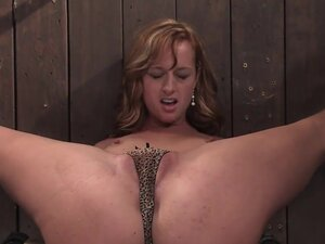 Ariel Natural red head helpless and loving it