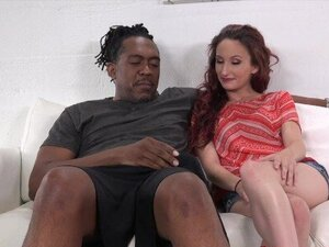 Petite Lyla Letto bouncing on monster BBC before