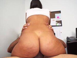 Victoria Valencia rides JDs big cock on top
