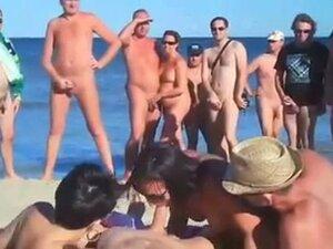 voyeur day in nudist beach!!