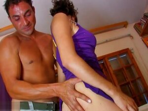 Katina & Jorge in Her First Time On Video -