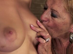 Mature blonde can't get enough of fucking a