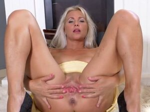 Wonderful czech babe is opening up shaved
