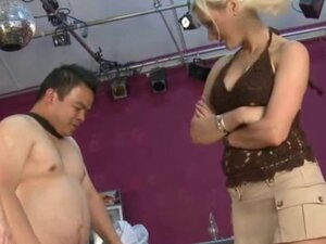 Small cock dude mastered by blonde mistresses