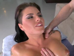 As long as there is a handsome dude massaging her,