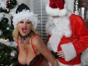 Ho Ho Ho Kelly Madison Is Gonna Make Santa Blow