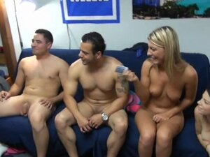 Crude and untamed orgy