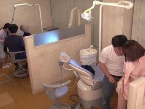 JAV star Eimi Fukada real japanese dentist office