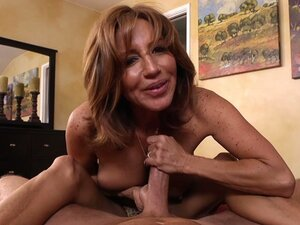 POV video of mature mommy Tara Holiday giving