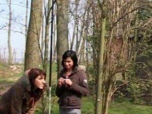 Pervert land owner made two girls fighting,