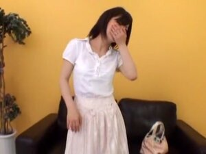 Hottest Japanese slut in Exotic Threesome JAV