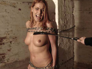 BrutalPunishment Video: Beating Beautiful Freya,