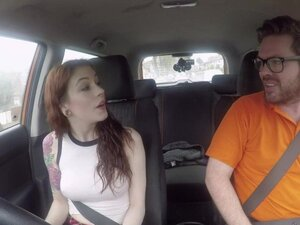 Fake Driving School USA babe Anna De Ville gets UK