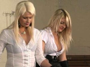 Double Mistresses With Slave