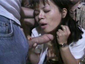 Asian Cutey Gets Soaked in Hot Cum!, May Ling has