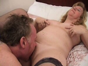 Mature woman gets licked and fucked