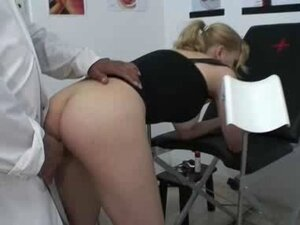 Dutch blonde visits the Squirt Clinic part 3