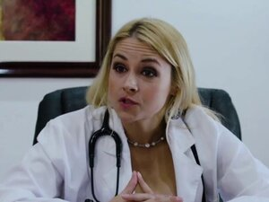 Cute blonde Zoe Parker getsfuck by Sarah Vandella
