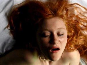 Redhead face orgasm