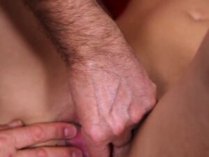 Doctor assists with hymen examination and