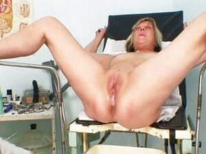 Nada visits her gyno doctor for mature pussy