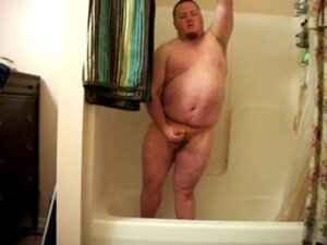 strip and jerking in the shower