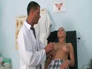 blond fucks a doctor